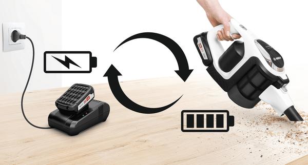 Brzi punjač za Unlimited baterije Bosch BHZUC18N